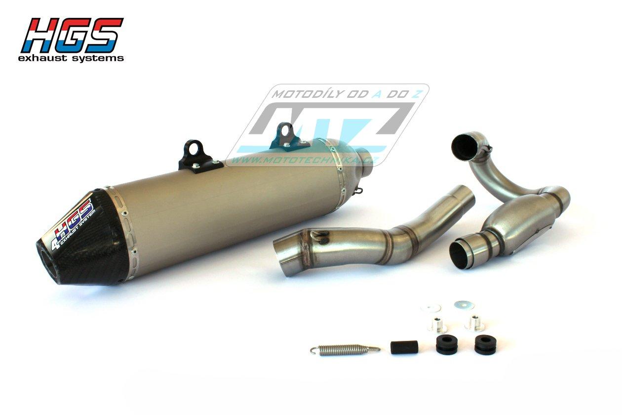 Výfuk kompletní (výfukový systém) HGS - KTM 450SXF / 16-17