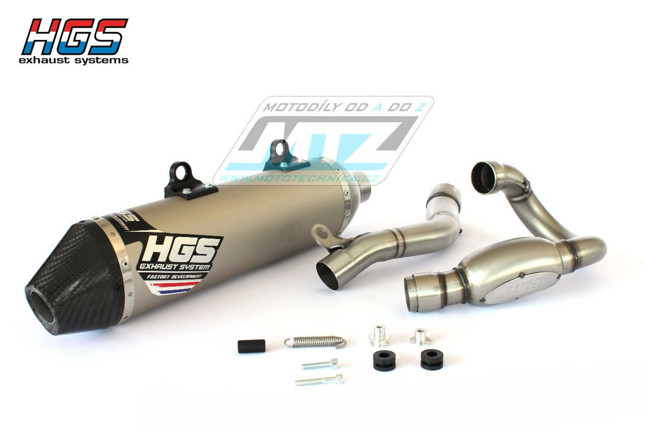 Výfuk kompletní (výfukový systém) HGS - KTM 450EXCF / 17