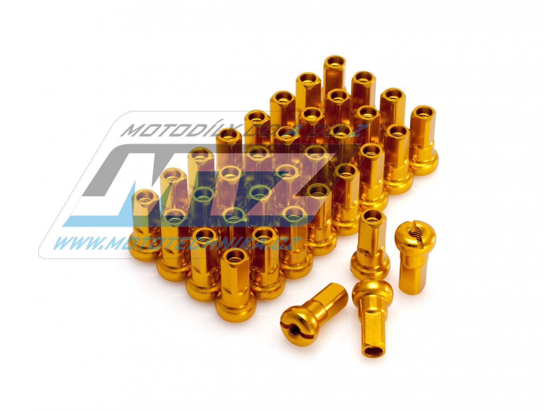 Sada niplů P3 (36ks) zlaté (žluté)