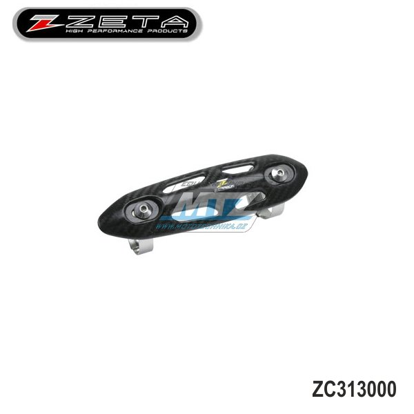 Kryt výfuku 4 takt Z-Carbon (pro priemer zvodu výfuka 26-50mm)
