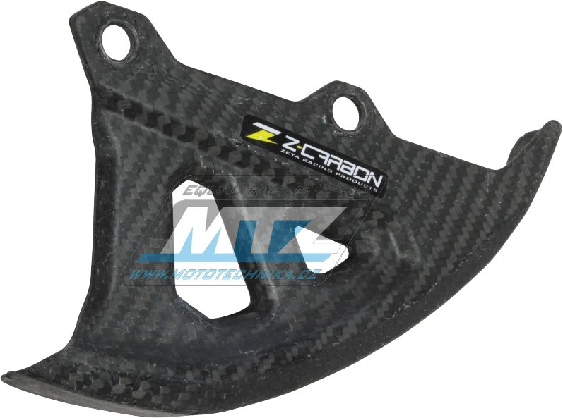 Kryt zadního brzdového kotouče Z-Carbon Yamaha YZF250+450 / 06-17 + WRF250+450 / 06-17 + YZ125+250 / 06-17 + YZ250X / 16-17 + WR250X+WR250R / 07-17