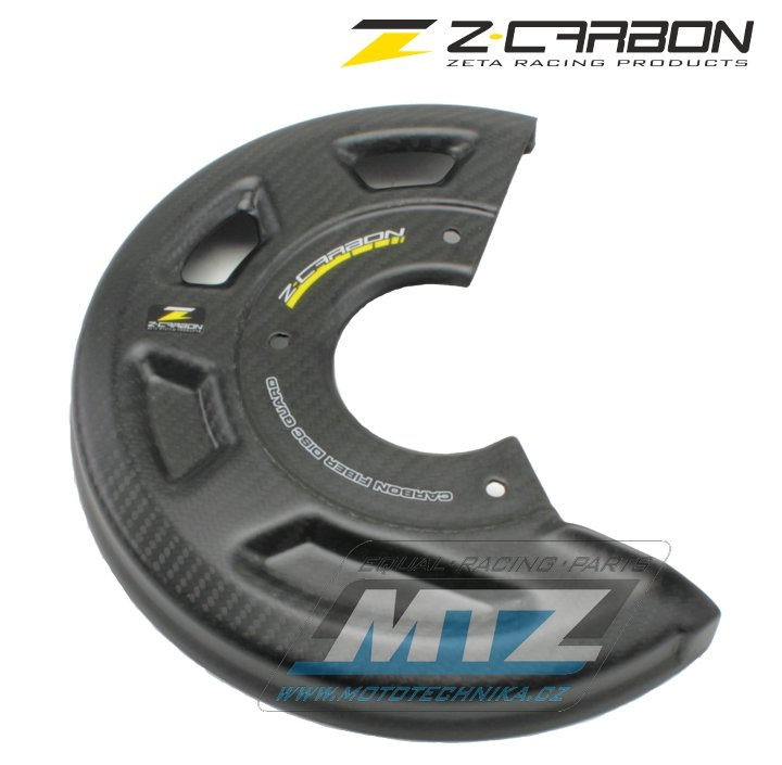 Kryt předního brzdového kotouče Z-Carbon (do 245mm) - carbonový