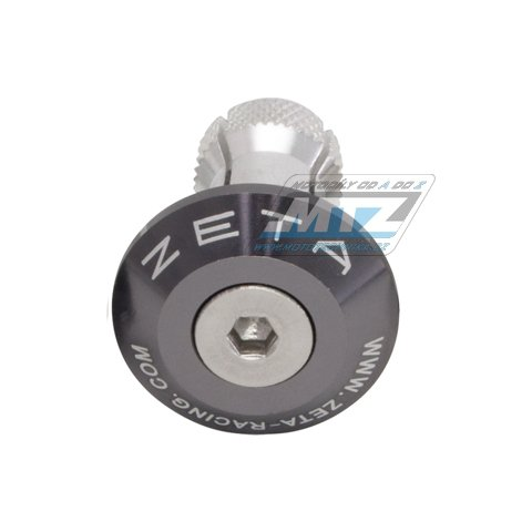 Koncovky/závaží řidítek Zeta Classic - titanové (pro vnitřní průměr řidítek ¤13/¤17mm)