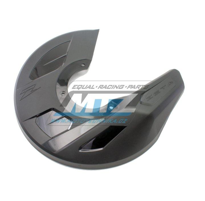 Kryt předního brzdového kotouče ZETA PRO - černý