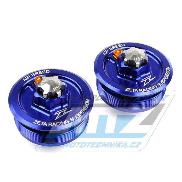 Víčka/Zátky přední vidlice Zeta RSL - Yamaha WR250R+WR250X / 07-17