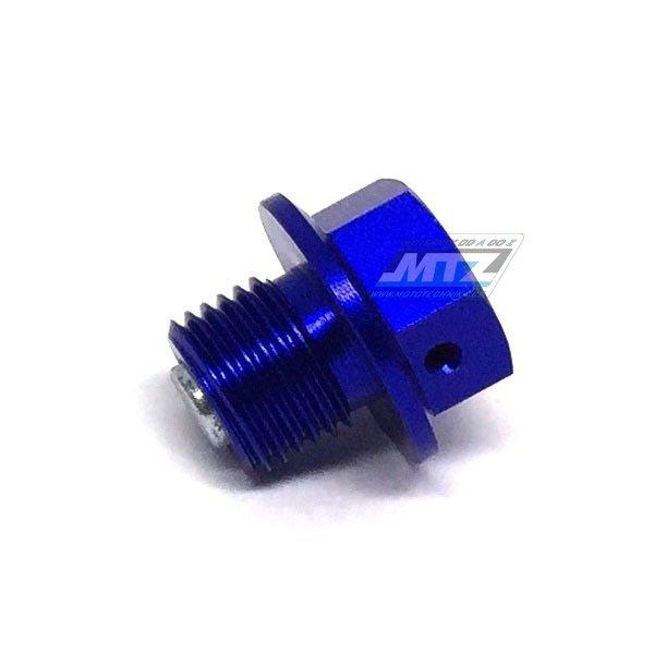 Magnetický výpustný šroub M12x10-1,25 - modrý (Suzuki RMZ250 +DRZ400)