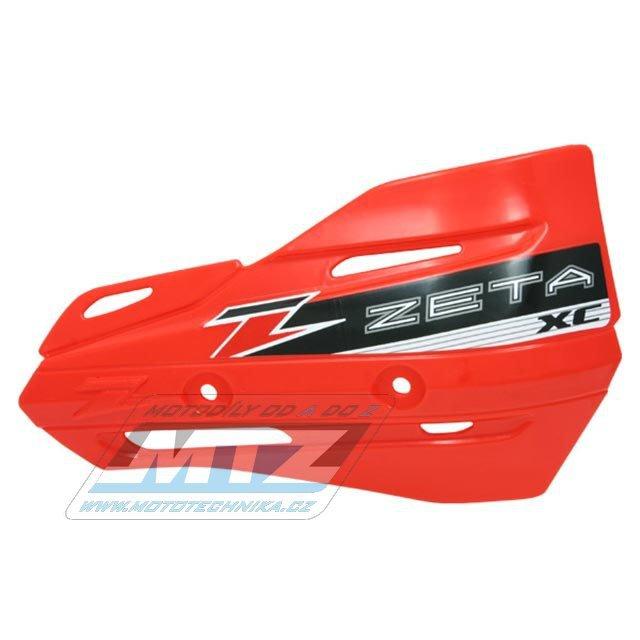 Kryty páček ZETA XC-Protector - červené