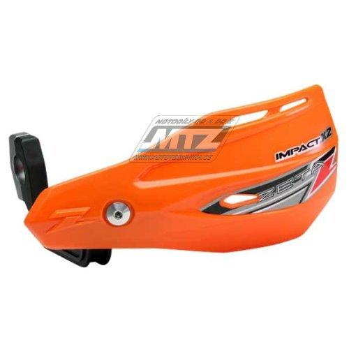 Kryty páčiek ZETA Impact-X2 vrátane montážneho kitu oranžové