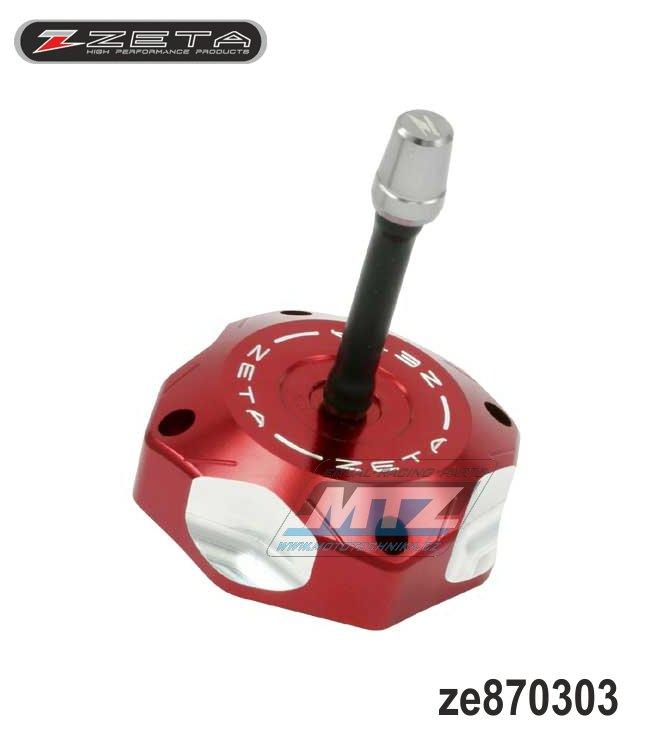 Víčko nádrže ZETA - Honda CR85 / 00-07 + CRF150R / 07-17 - červené