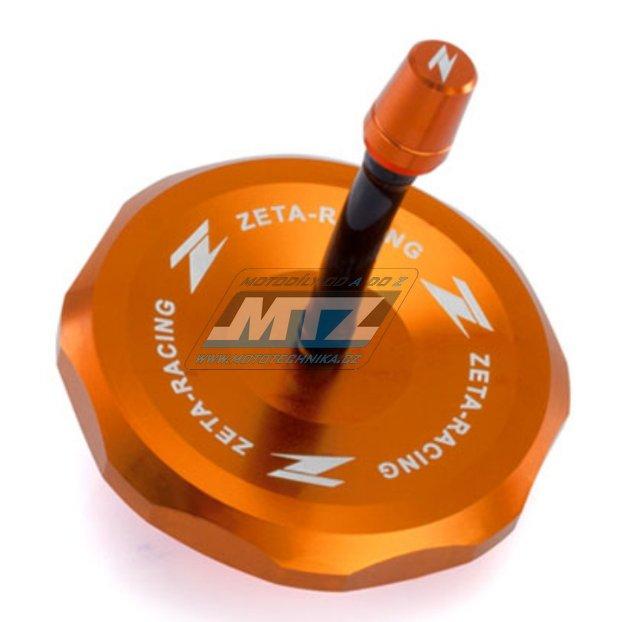 Víčko nádrže Zeta - KTM 85SX / 13-17 + 125+250SX + 250+350+450SXF / 13-17 + Husqvarna TC85 / 14-17 + TC125+TC250 + FC250+FC350+FC450 - oranžové