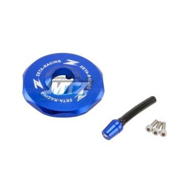 Víčko nádrže ZETA - KTM 65SX / 10-17 + 125+200+250+300EXC / 11-17 + 250+350+400+450+500+530EXC / 11-17 + Husqvarna TE125+TE250+TE300 + FE250+350+450+501 / 14-17 - modré