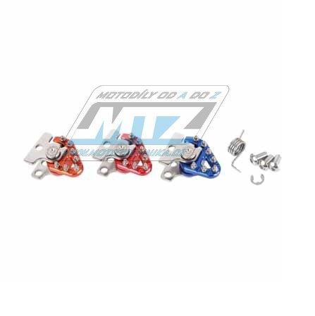 Koncovka pedálu brzdy Zeta Trigger - modrá
