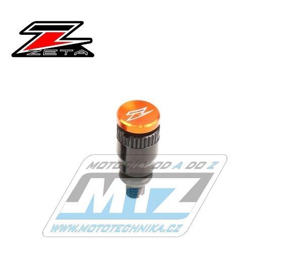 Ventilek odvzdušňovací WHITE POWER / MARZOCCHI / SACHS (závit M4) - oranžový