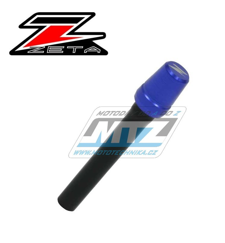 Ventil víčka nádrže odvzdušňovací jednocestný (Alu-hliníkový) ZETA - modrý