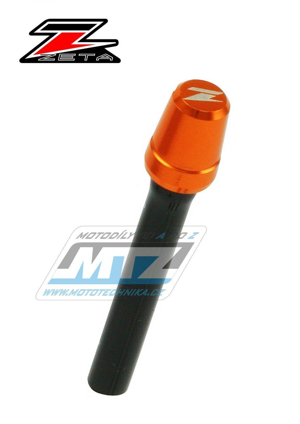 Ventil víčka nádrže odvzdušňovací jednocestný (Alu-hliníkový) ZETA - oranžový